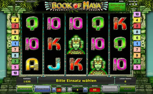 Book-of-Maya online Slot