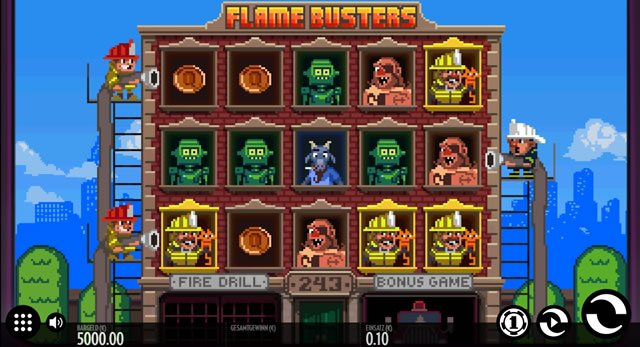 Flame Busters Spielautomat