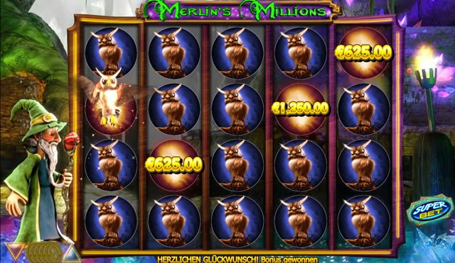 Merlin's Millions Feature