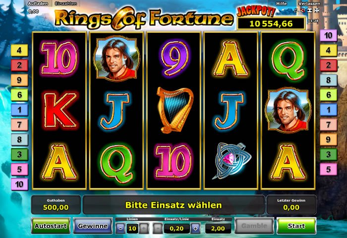 Rings of Fortune online spielen