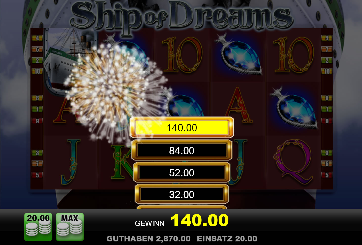 ship of dreams spielen