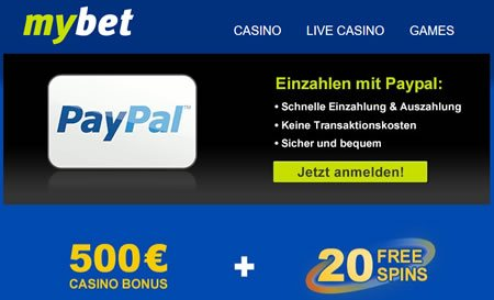 Spielautomaten Ghostbusters im Paypal Casino MyBet