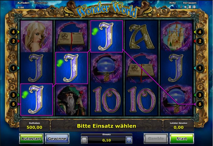 Spiele Wonder World - Video Slots Online