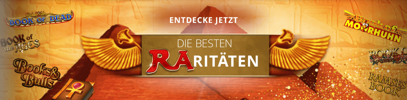 Book of Ra Alternativen bei Sunmaker